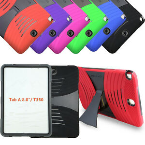 """Armor Shockproof Stand Box Case Cover for Samsung Galaxy Tab A 7"""" 8"""" 9.7"""" Tablet"""
