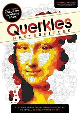 Querkles: A Puzzling Colour By Numbers Book - Masterpieces By Thomas Pavitte