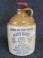 Vintage MCCORMICK STRAIGHT CORN WHISKEY JUG (AB-365)