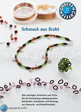 """Anleitung Broschüre """"Schmuck aus Draht"""""""