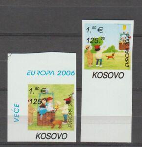 S35994 Kosovo 2006 Europa Cept MNH 2v Imperforado Integración