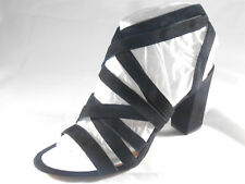 INC INTERNATIONAL CONCEPTS (KAILEY BLACK SUEDE SANDAL) WOMENS SIZE 10 NEW!!
