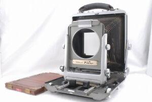 *AS IS Rittreck View Musashinokoki 4 3/4 x 6 1/2 Camera w/Wood Holder *658626
