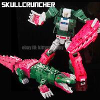 """Kids Gift Toy Metal Parts Robot The Headmasters Skullcruncher 8"""" Action Figure"""