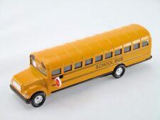 Yellow school bus 7� inch Die cast metal Toy