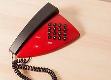 Vintage rare phone ISKRA COMET red space pizza slice style Yugoslavia  retro hip