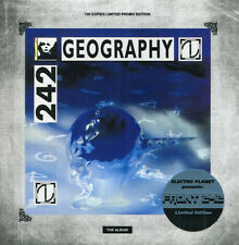 FRONT 242 - GEOGRAPHY - LIMITED PROMO EDITION 100 COPIES - ELECTRO PLANET - RARE