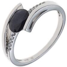 Unbehandelte Ringe mit Saphir echten Edelsteinen mit 54 (17,2 mm Ø)