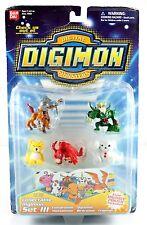 DIGIMON COLLECTABLE SET 3-CENTARUMON,OGREMON,MONZAEMON,BIRDRAMON,FRIGIMON FIGURE
