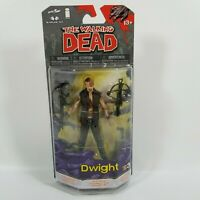 "McFarlane The Walking Dead DWIGHT 5"" Action Figure Comic Book Series 3 NEW"