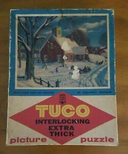 """Vintage """"School Is out"""" Tuco Extra Thick Approx 300 Piece Puzzle"""