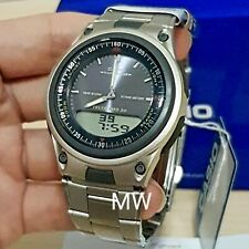 New Casio AW-80D-2A Sports Analog Digital Databank World Time Alarm Men's Watch