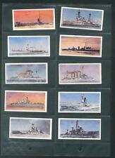Lyons Tea HMS 1902-1962 Full Set of 32 Cards In Display Sleeves Ships