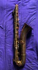 """Vintage King Zephyr Baritone Saxophone. """"No Case"""" """"No Neck"""""""