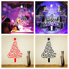 Christmas Wall Sticker Art Tree Mural Removable Vinyl Decal Shop Xmas Home Decor