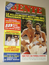GENTE=1983/21=FABIO TESTI=TITO GOBBI=SUBIACO=LYKOV FAMILY=FRANCESCA RINALDI=