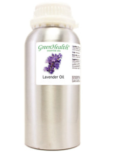 16 fl oz Lavender Essential Oil in Aluminum Bottle - GreenHealth