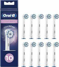 Oral-B Sensitive Clean Testine di Ricambio - Bianche, Set di 10