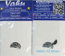 Yahu Models YMA7289 1/72 PE Handley-Page Hampden Instrument Panel