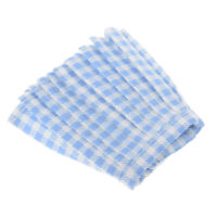 1:6 Doll Accessories Skirt Clothes for Girl Dolls Miniskirt Light Blue Plaid