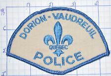 CANADA, DORION-VAUDREUIL POLICE DEPT QUEBEC PATCH