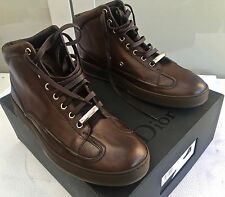 Rare&Great Dior Homme AW13 Transparent Wedge Sole Leather HighTop Sneakers/Shoes