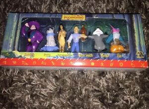 VINTAGE Disney Pocahontas 6 Piece Figurine Gift Set by Applause 1995 New!!