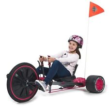 Huffy Green Machine Go Kart Drift Bike Big Wheel Tricycle 20 inch Pink Trike New