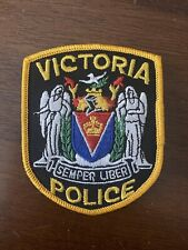Victoria British Columbia Police Patch - Canada - Obsolete - Sergeant's (Gold)
