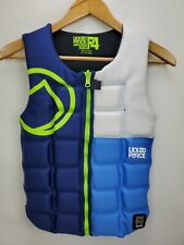 "Liquid Force Mens Flex F4 Comp Life Vest Size X-Small 31""-34"" Competition Jacket"
