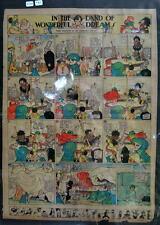 LITTLE NEMO SUNDAY Color Strip 7/13/1913 WINSOR McCAY Land Of Wonderful Dreams