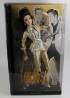 2010 Pink Label: Elvis Collectable Barbie Doll BNIB MINT $80