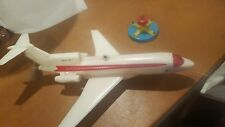 VINTAGE, BATTERY OPERATED PLASTIC BOEING 727 Tether JET PLANE FOR CEILING MOUNT