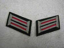WWII GERMAN ARMY OFFICER ARTILLERY WEHRMACHT HEER COLLAR TABS