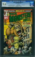WHERE MONSTERS DWELL #1  US MARVEL 2005  Giffen Peter David CGC 9.6 NM+
