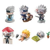 Naruto Shippuden Hatake Kakashi Naruto Uzumaki Special 6pc Set Figure TOY