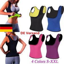 DE Damen Sport  Shapewear Weste Tops Figurformend Unterwäsche Bauchweg Cincher