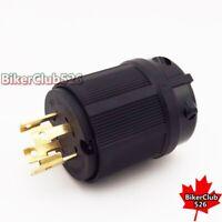 4 Prong 125/250V Gas Gasoline Generator Locking Plug  30A L14-30P UL Approval