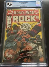OUR ARY AT WAR SGT ROCK 254 CGC 9.6 WHITE PAGES NEW SLAB JOE KUBERT ART