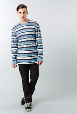 Camiseta/T-shirt – RUSTY - Talla/Size M - ESCOBAR LONG SLEEVE TEE - MACHINE BLUE