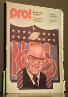 Pro! The Official Magazine Of The National Football League November 2 1975