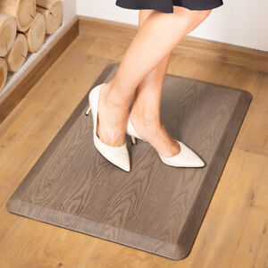 "Cushioned Anti Fatigue Comfort Floor Mat Non-Slip for Kitchen Office 3/4"" Thick"