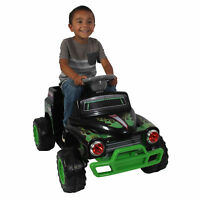 Grave Digger Power Wheels Ride On Toy Vehicle Engine Hood ...