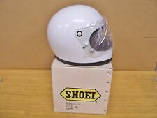 Vintage NOS Shoei S12 S 12 Motorcycle Full Face Helmet Small White