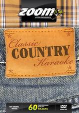 Zoom Karaoke Classic Country Karaoke (Region Free) DVD - 60 tracks on 2 DVDs