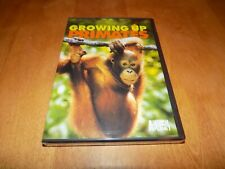 GROWING UP PRIMATES Animal Planet Baby Primate Apes Chimps Monkey Ape DVD NEW