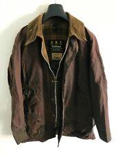 Mens Barbour Beaufort wax jacket Dark Brown coat 42 in size Medium / Large M/L