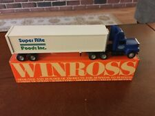 Super Rite Foods '92 Harrisburg, PA Winross Truck - MINT condition