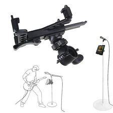 Music Microphone Stand Holder Mount For 7''-11''Tablet iPad Air 5432 SamsungGYTH