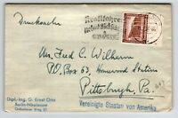 Germany SC# B97 on Cover to USA - Z13304